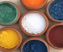 apprendre la peinture naturelle pigments