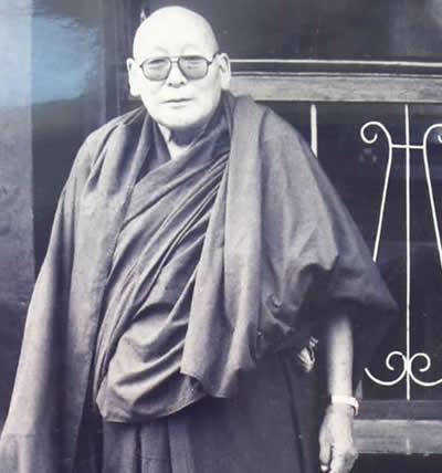 Maitre sengye yeshe, peintre du Dalaï Lama