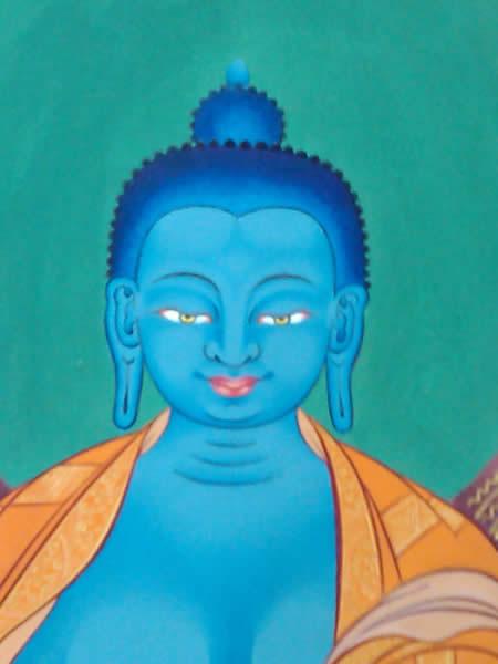 [1] Bouddha medecine | Detail