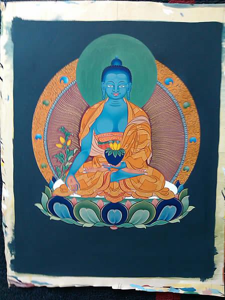 [2] Bouddha medecine | Disponible