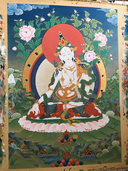[4] Thangka tibetain - Tara | Sur-commande