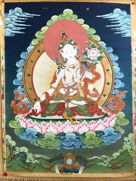 [5] Thangka tibetain - Tara | Sur-commande